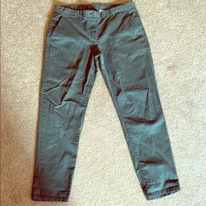 Green Gap Khaki pants